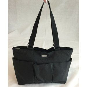 Baggallini Tote Black Nylon Bag Organizer Shopper